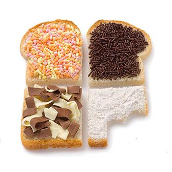 Broodjes zoet